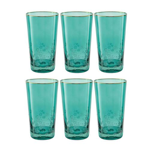 Pip Studio longdrink glas (330 ml) set van 6