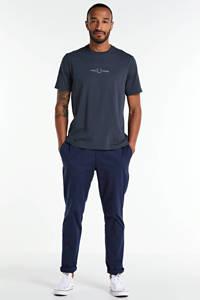 SUIT slim fit pantalon donkerblauw, Donkerblauw