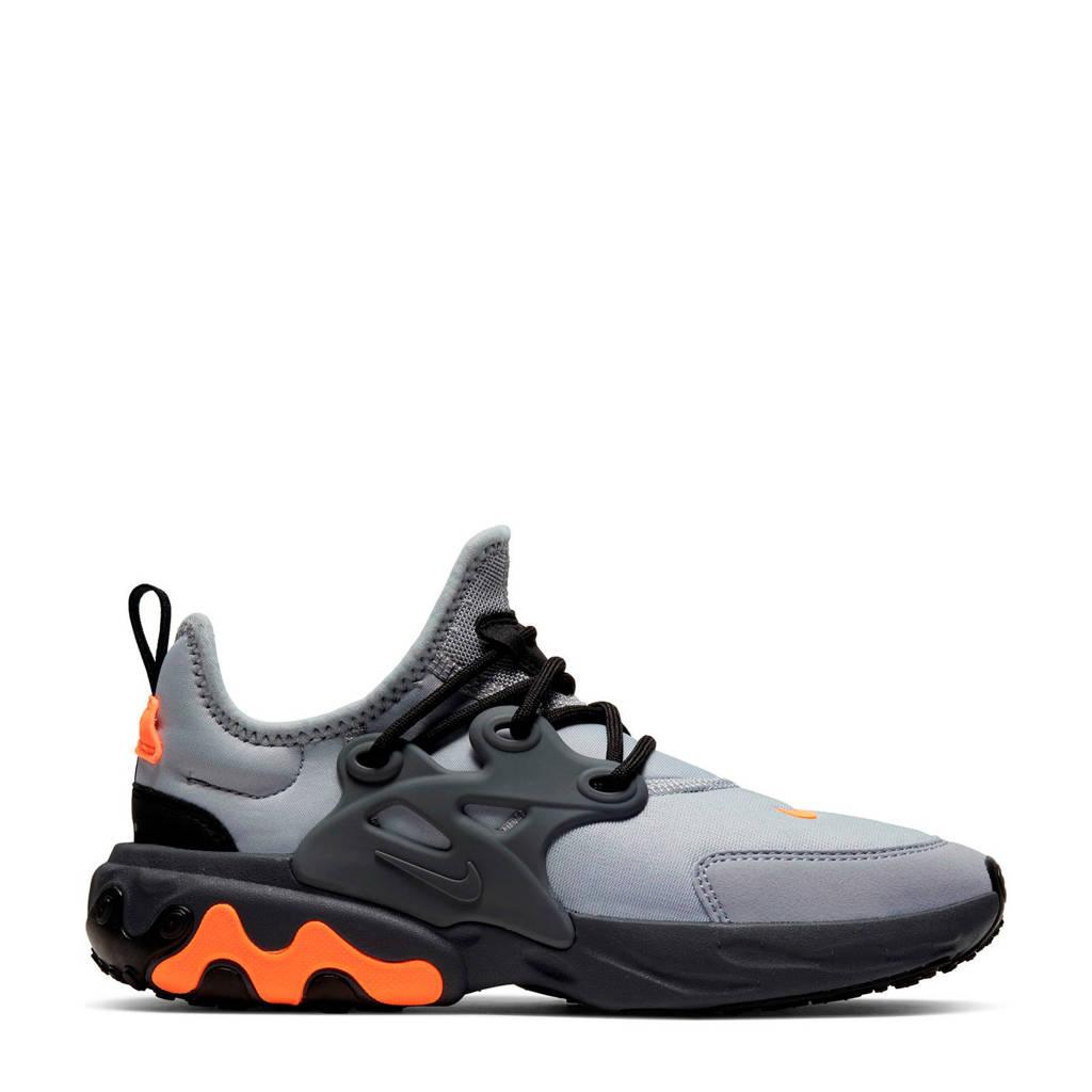 Nike React Presto  sneakers grijs/oranje, Grijs/oranje