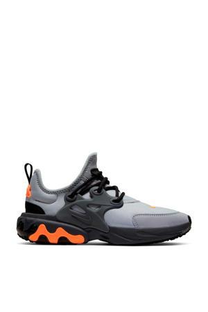 React Presto  sneakers grijs/oranje