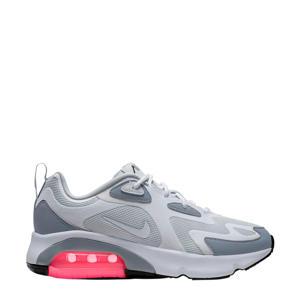 Air Max 200 sneakers grijs/wit/roze