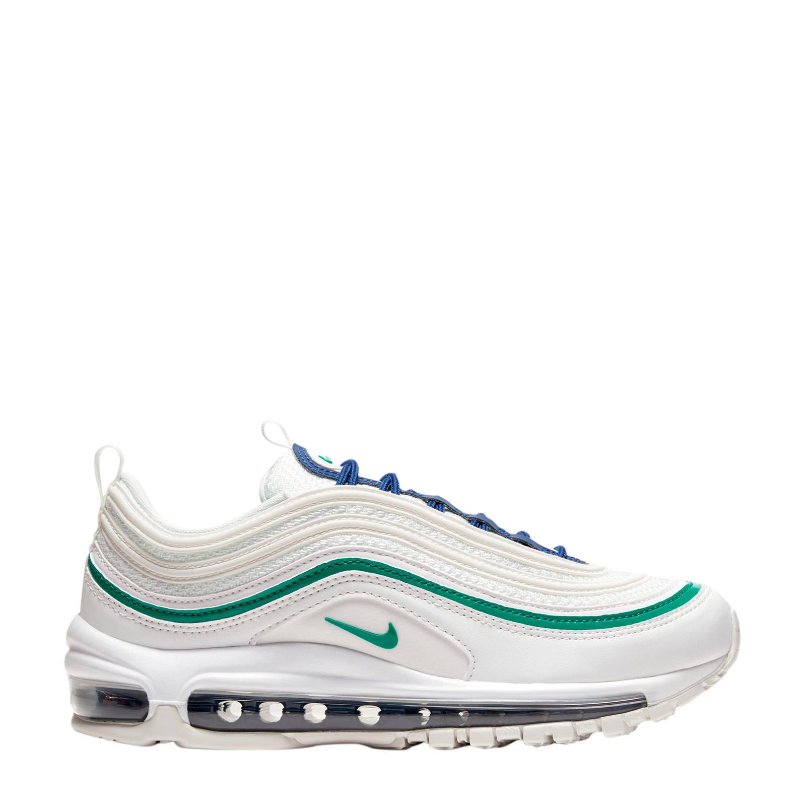 Nike Air Max 97 sneakers witgroen | wehkamp