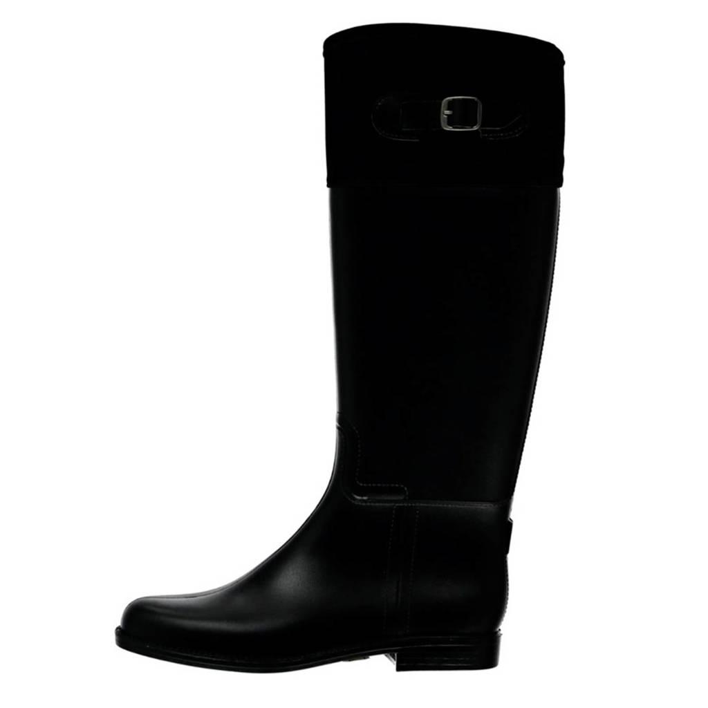 XQ   regenlaarzen zwart, Zwart