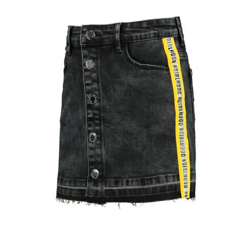 CoolCat Junior spijkerrok Rosanna met contrastbies