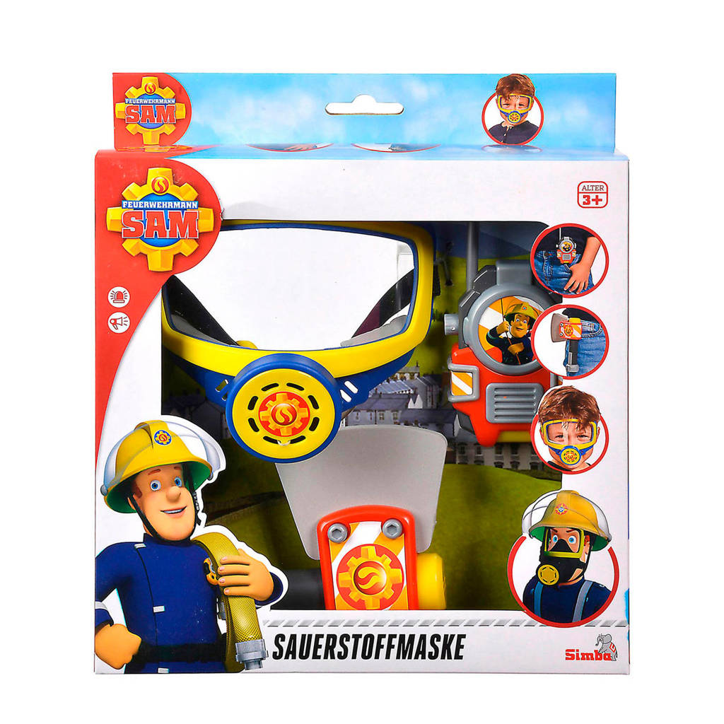 Simba Brandweerman Sam Zuurstofmasker, Multi