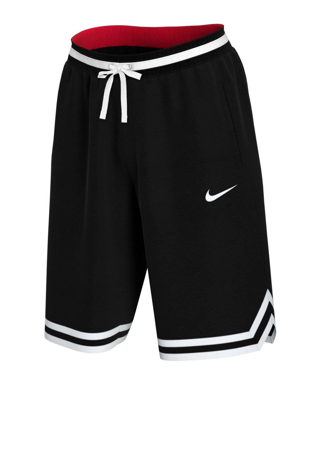 Nike   sportshort zwart, Zwart/wit