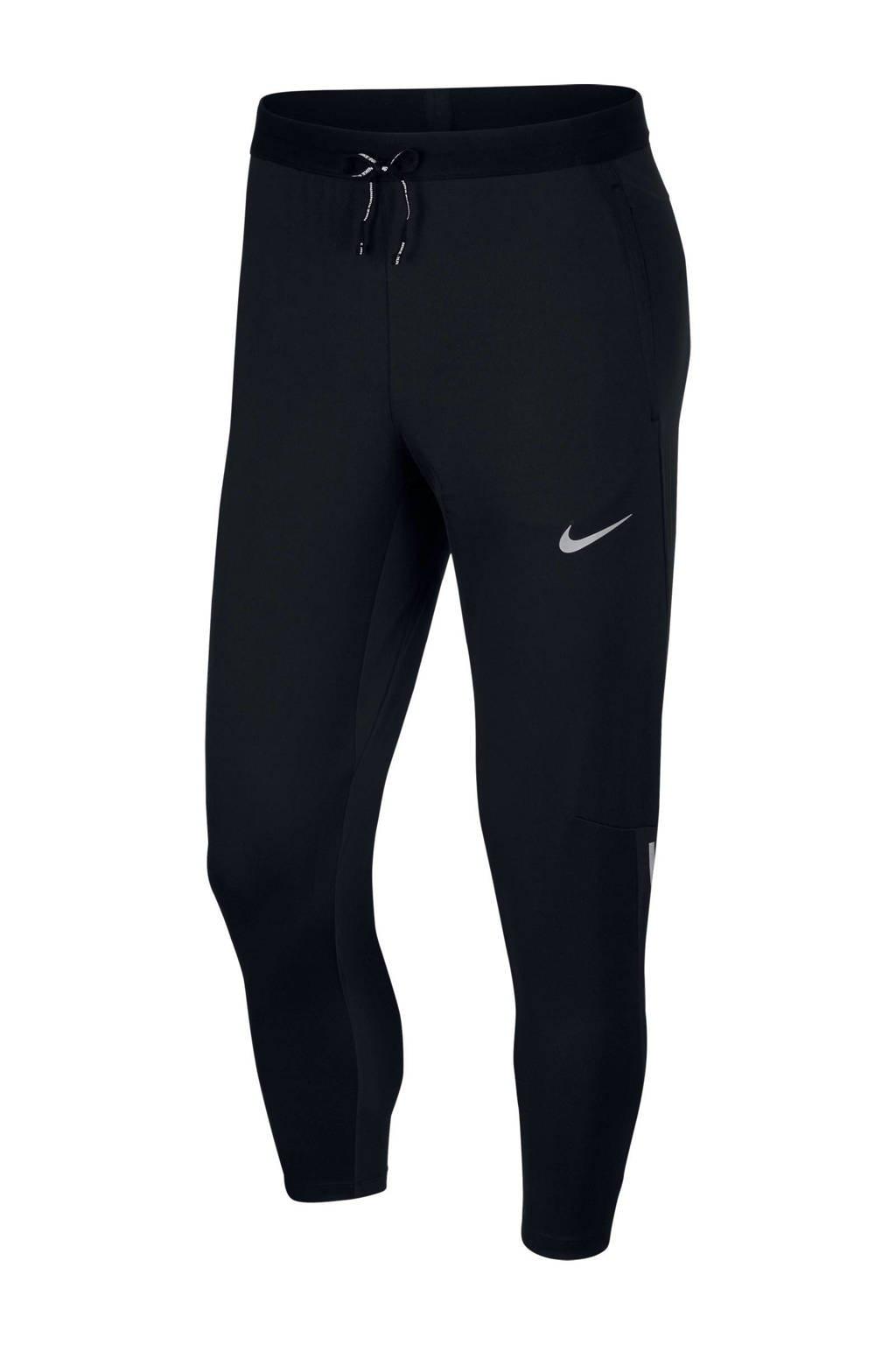Nike   Shield Phenom hardloopbroek zwart, Zwart