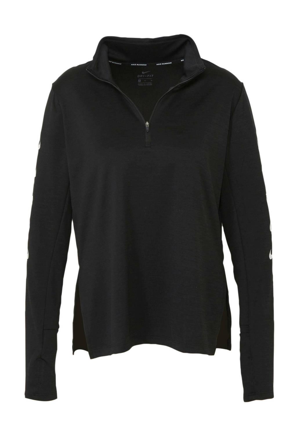 Nike hardloop T-shirt zwart, Zwart