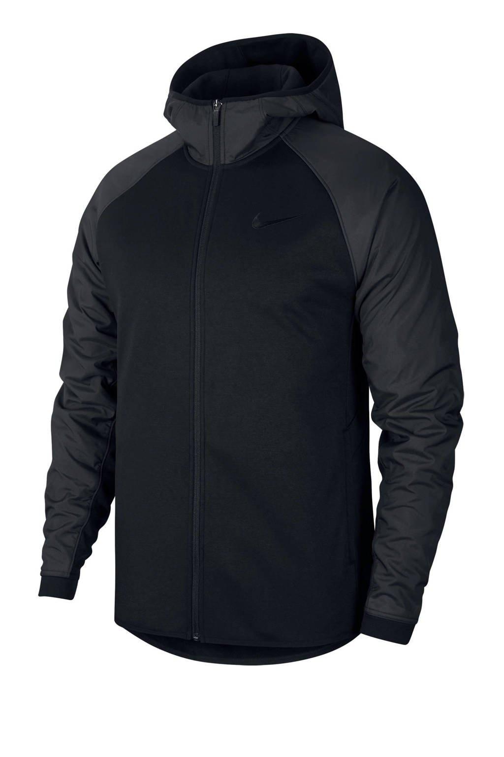 Nike   sportvest zwart, Zwart