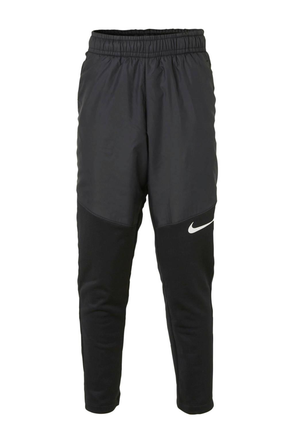 Nike   thermo sportbroek zwart, Zwart