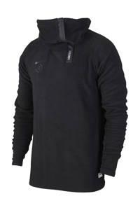 Nike   voetbalsweater zwart, Zwart