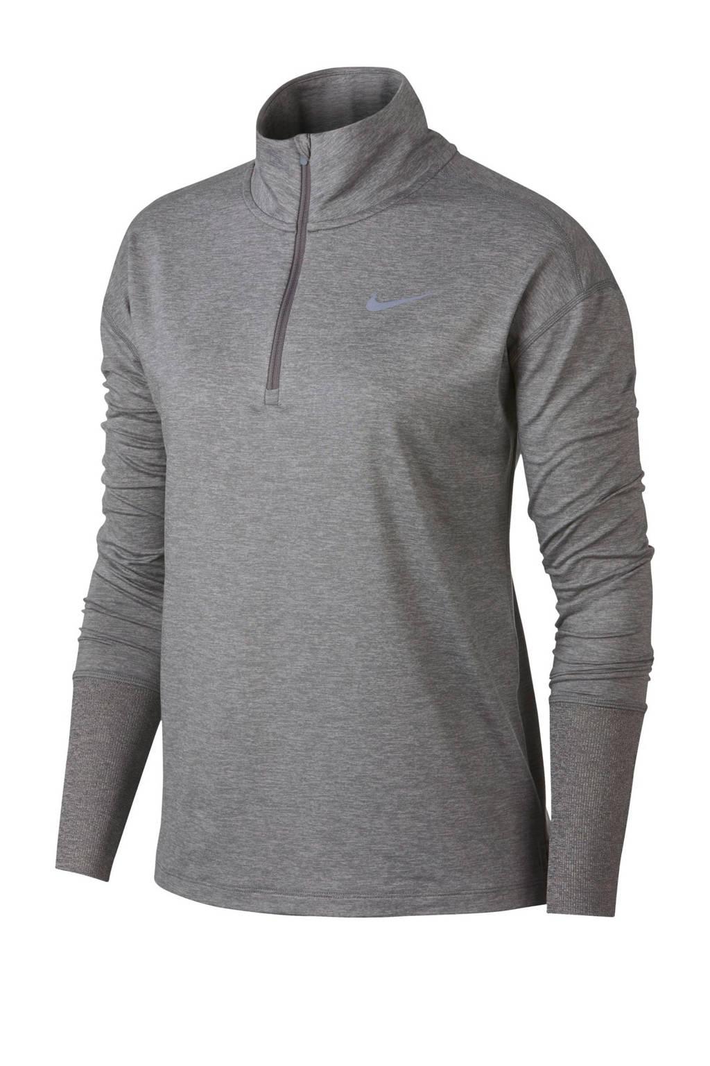 Nike hardloop T-shirt grijs, Grijs