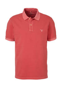 GANT regular fit polo rood, Rood