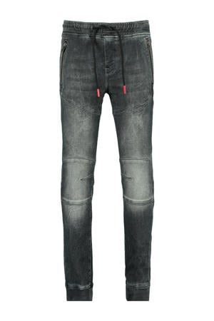 regular fit jog denim Karsten donkergrijs