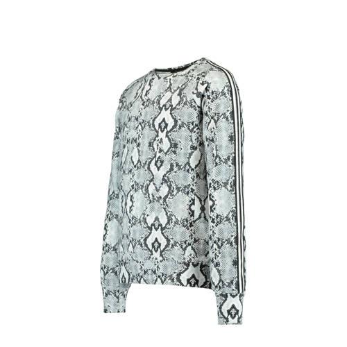 CoolCat Junior sweater Steffie met slangenprint en
