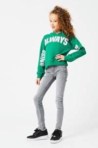 CoolCat Junior skinny jeans Kato lichtgrijs, Lichtgrijs