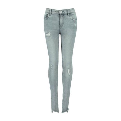 CoolCat Junior skinny jeans Kato lichtgrijs