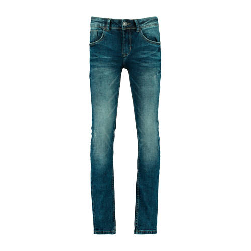 CoolCat Junior slim fit jeans Kevin donkerblauw
