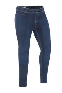 Yesta high waist skinny tregging Tessa donkerblauw, Donkerblauw