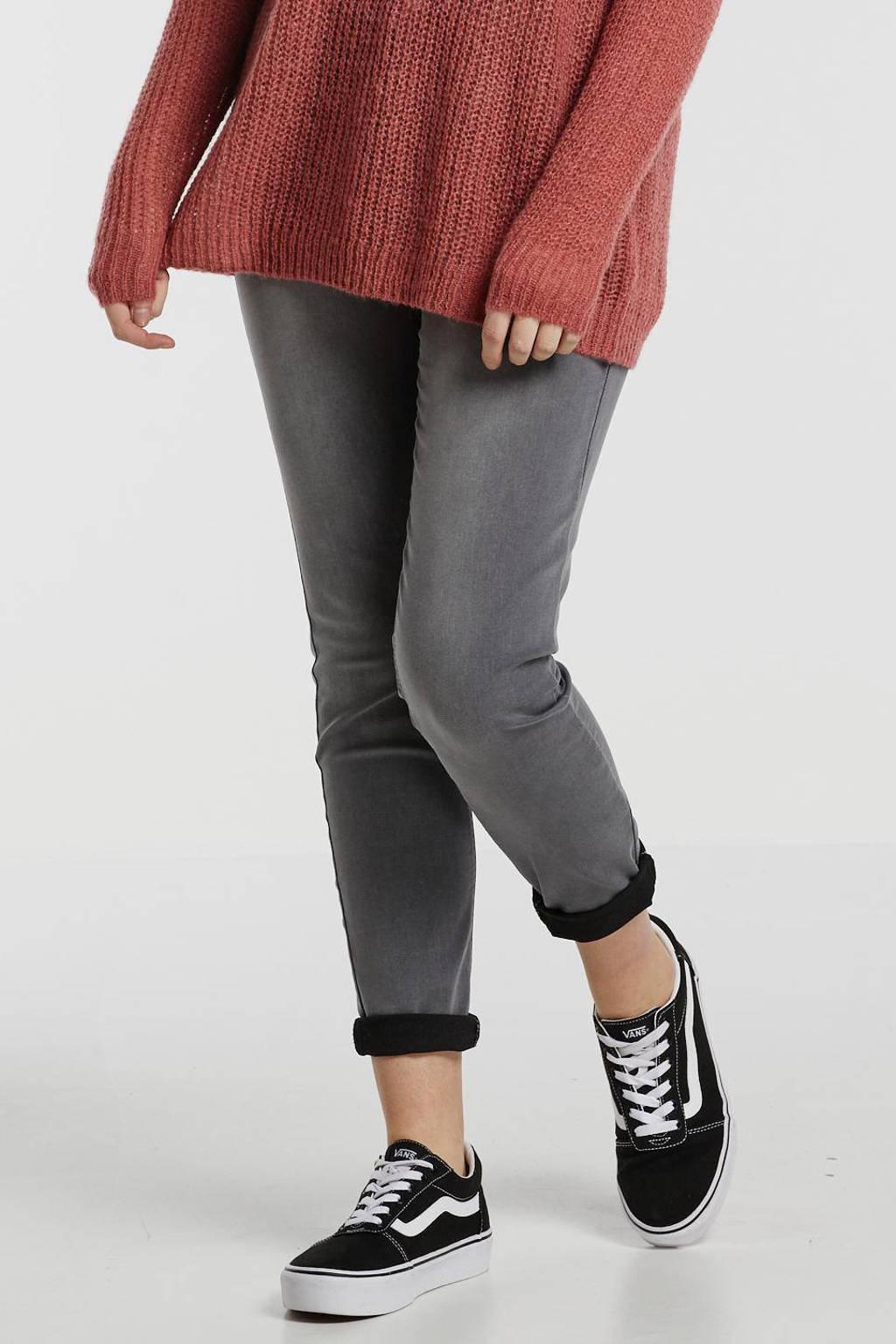 Yesta push-up slim fit jeans Joya grijs, Grijs