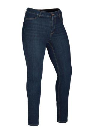 high waist skinny jeans Faya donkerblauw