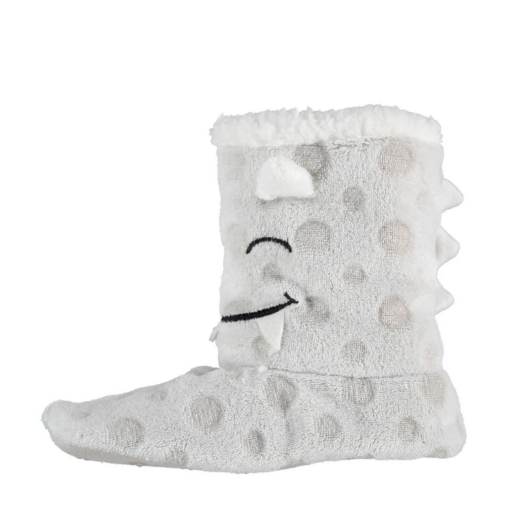 Apollo pantoffels grijs kids, Grijs
