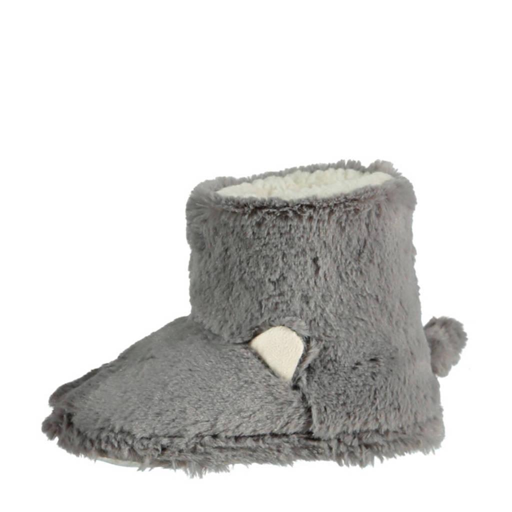Apollo pantoffels grijs, Grijs