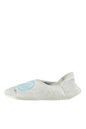 pantoffels grijs/blauw
