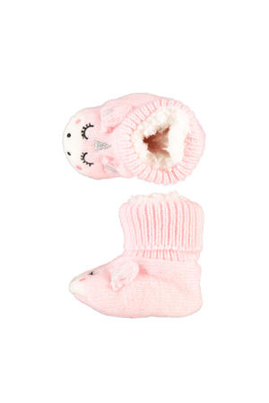 babyslofjes unicorn roze