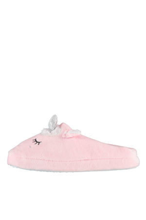pantoffels unicorn roze
