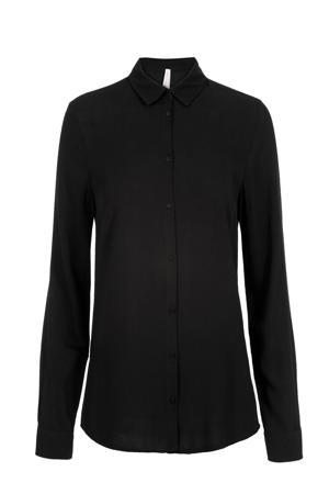 Lang blouse zwart