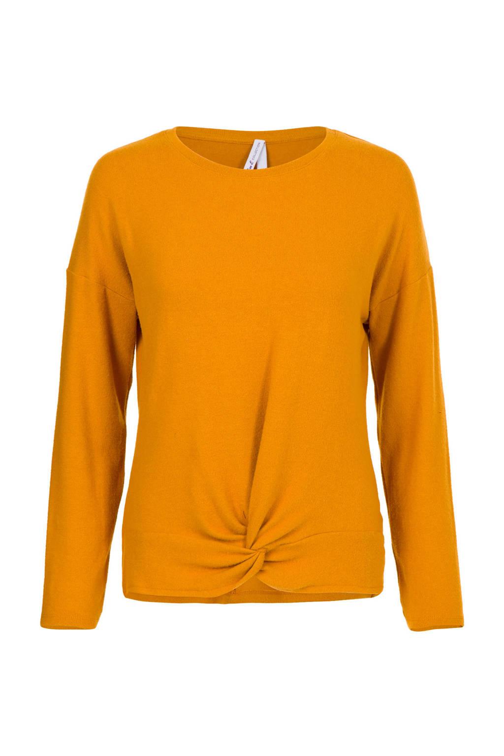 Miss Etam Regulier trui geel, Geel