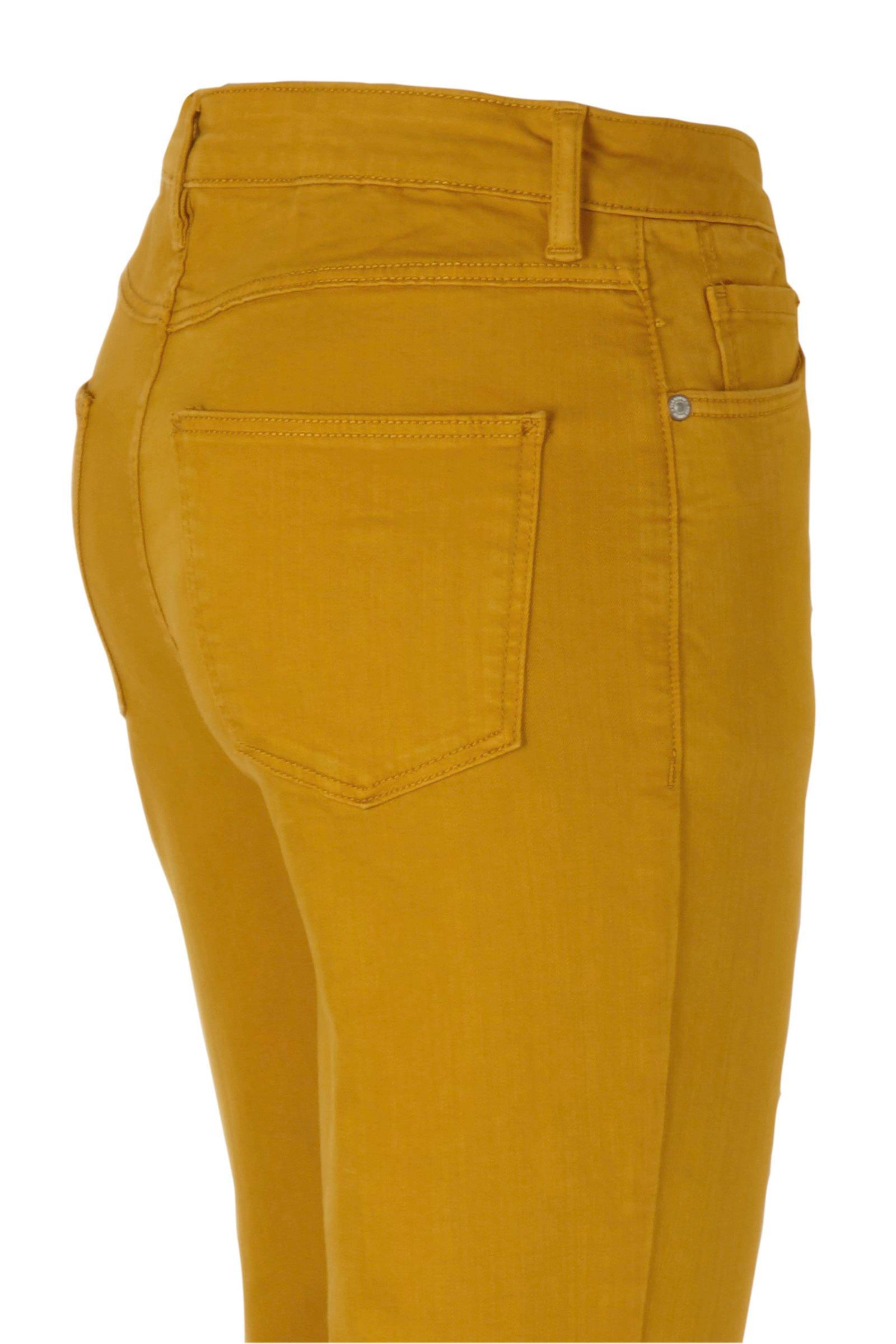 C&A The Denim high waist skinny jeans oker | wehkamp