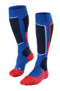 Falke Sport SK2 skikousen blauw, Blauw/rood
