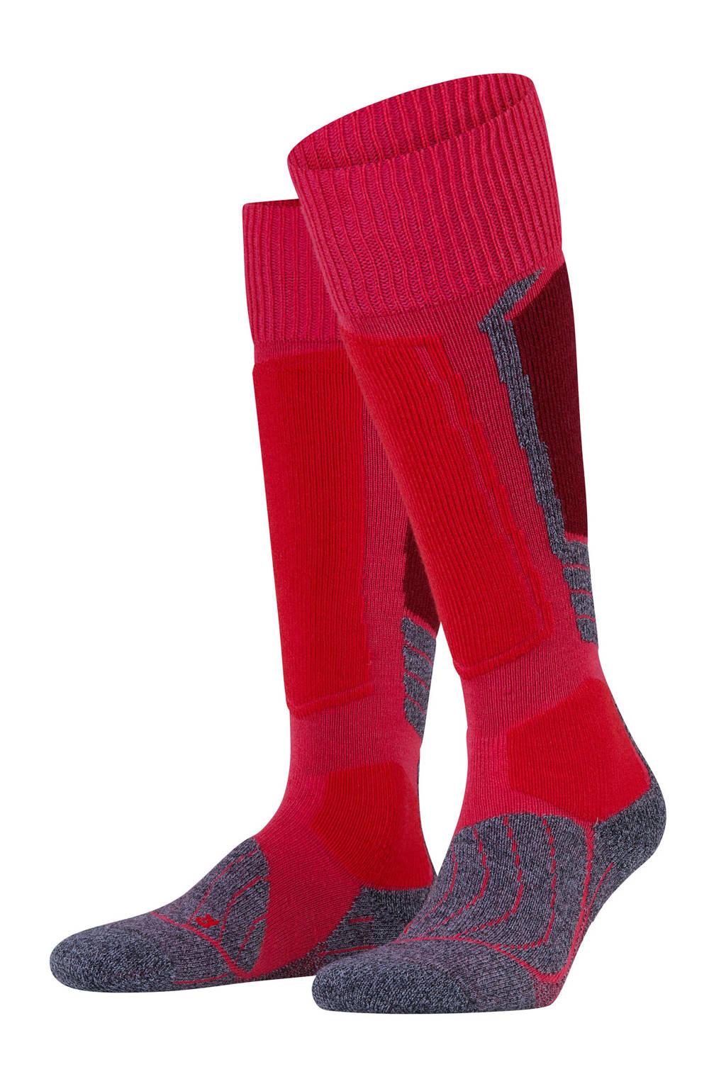 Falke Sport SK1 skikousen rood, Rood