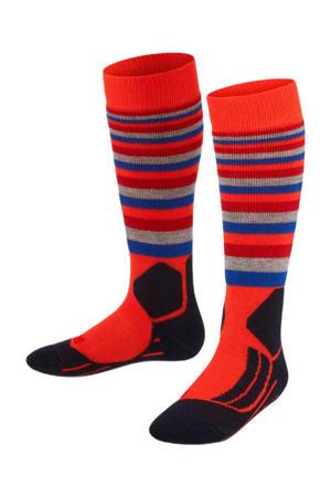SK2 Stripes skikousen oranje