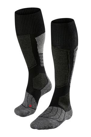 SK1 skisokken zwart