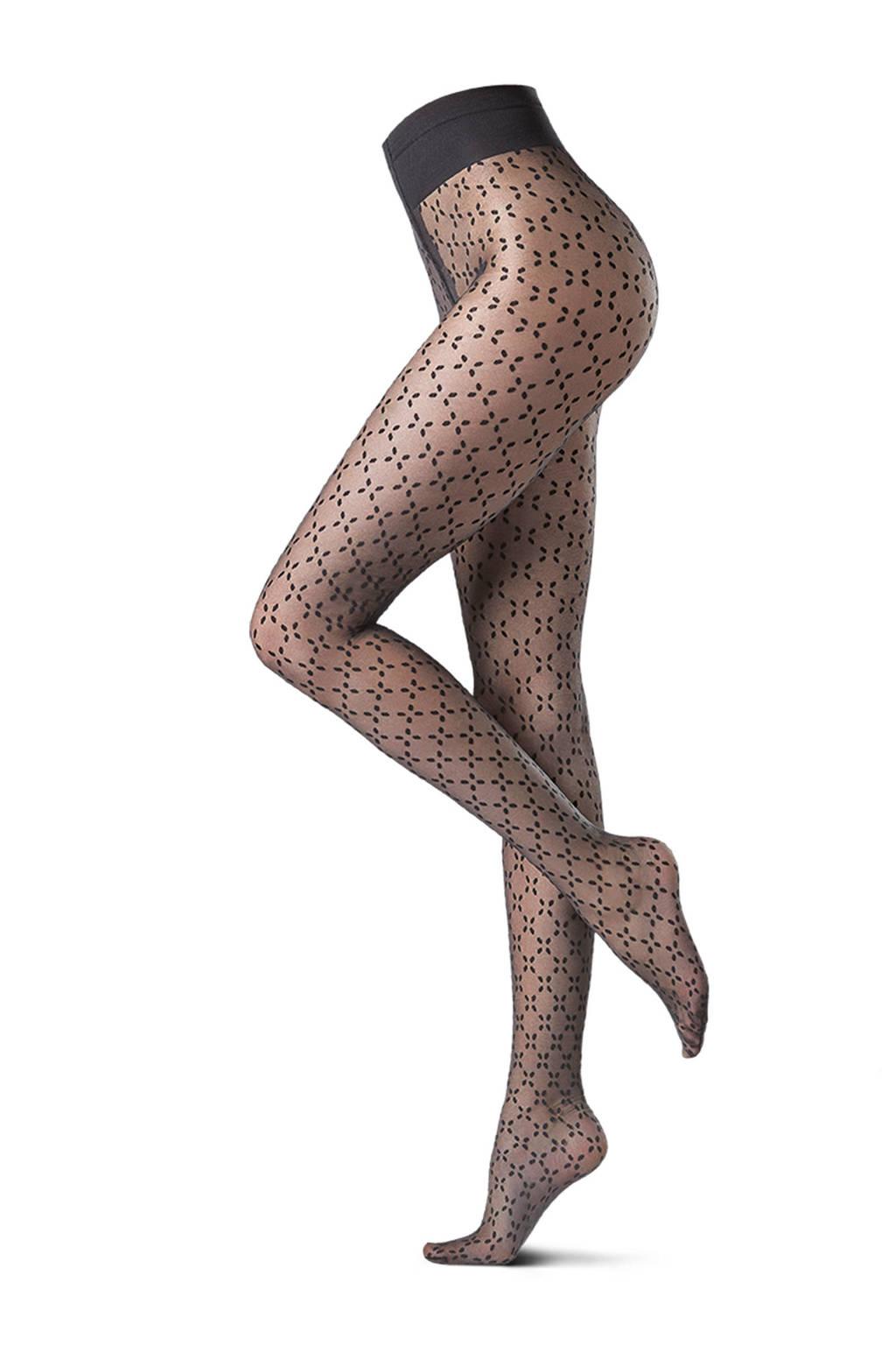 Oroblu panty 20 den zwart, Zwart