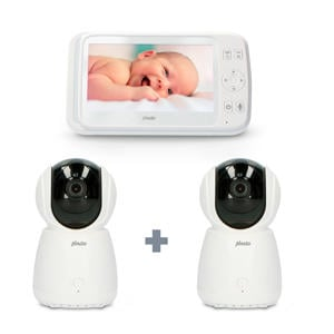 """DVM-275 + DVM-275C babyfoon met 2 camera's en 5"""" kleurenscherm"""