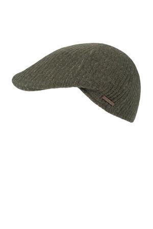 flatcap olijfgroen