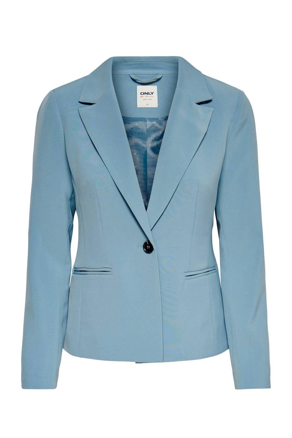 ONLY blazer blauw, Blauw