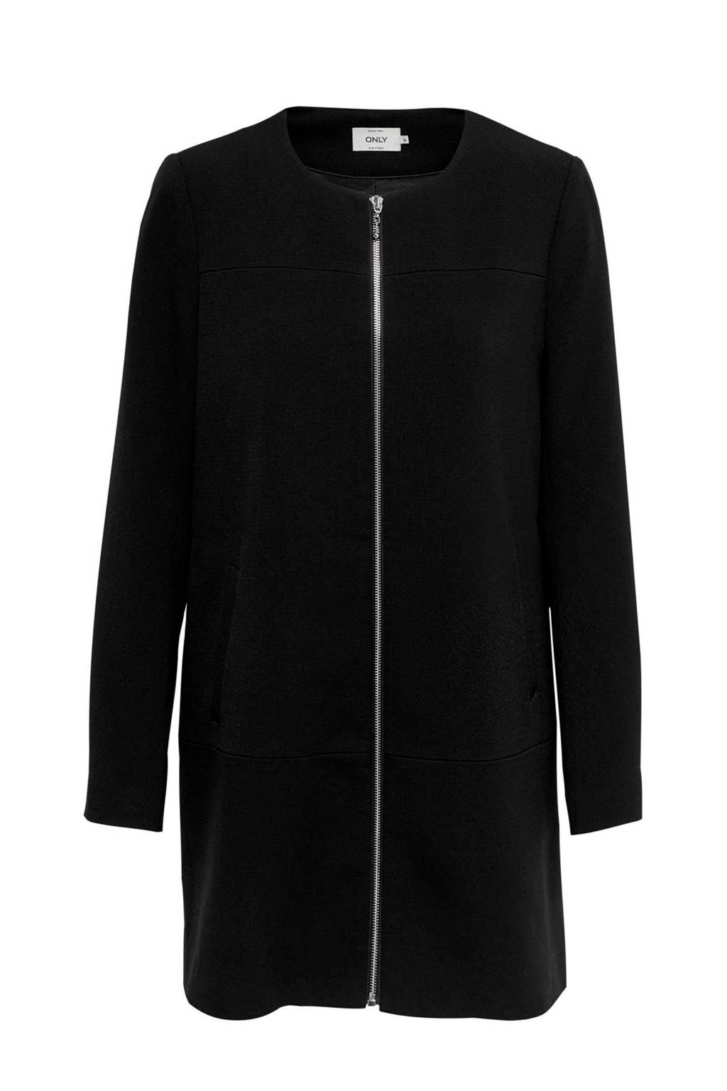 ONLY coat zwart, Zwart