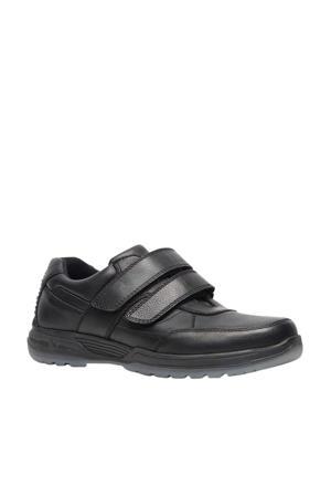 comfort leren schoenen zwart