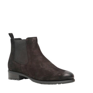Harper   suède chelsea boots zwart