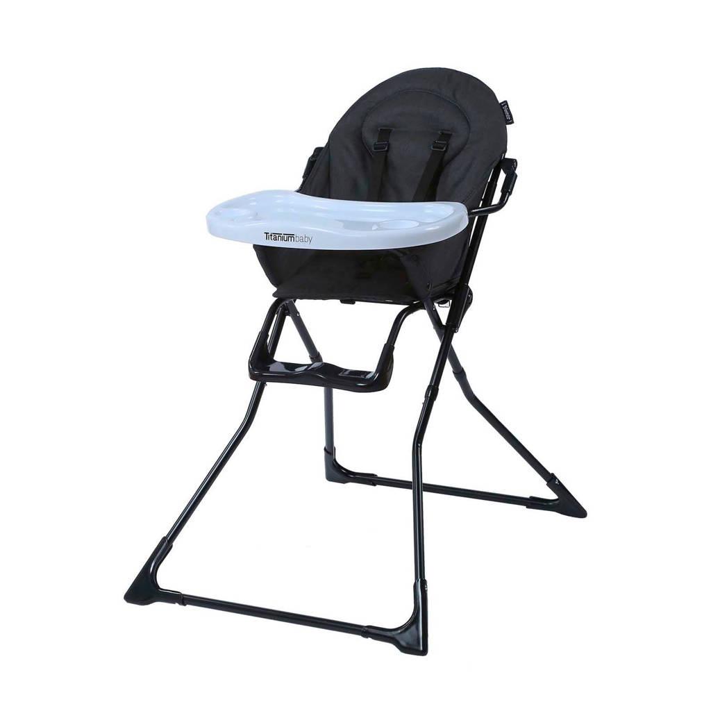 Titaniumbaby iDinner! Kinderstoel donker grijs, Donker grijs