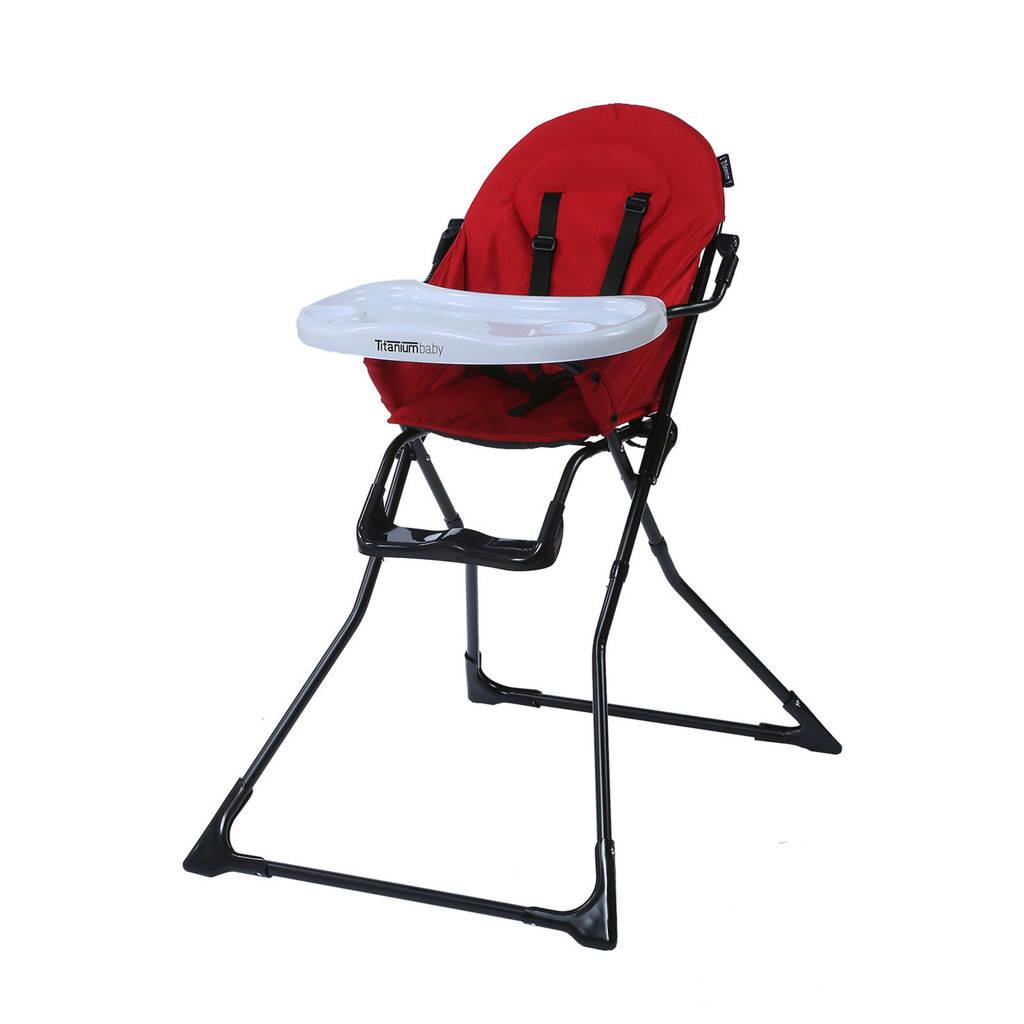Titaniumbaby iDinner! Kinderstoel rood, Rood