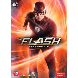 Flash- Seizoen 1-5 (DVD)
