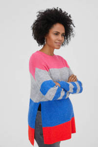 C&A Positiemode zwangerschapstrui roze/grijs/blauw, Roze/grijs/blauw