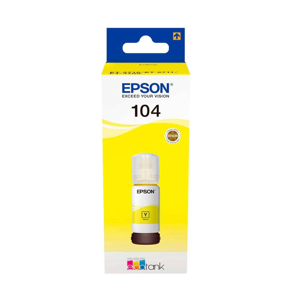 Epson  fles inkt 65 ml (geel), -