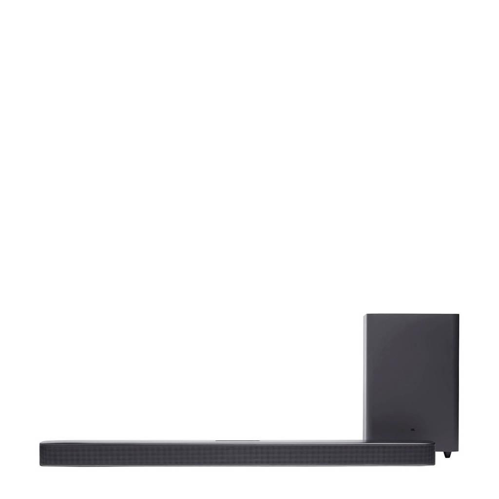 JBL BAR 2.1 soundbar + subwoofer Deep Bass (zwart), Zwart